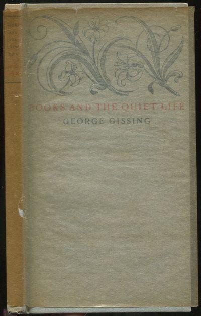 Portland, Maine: Thomas B. Mosher, 1922. Hardcover. Fine/Fine. Second printing. 16mo. Printed paperc...