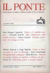 IL PONTE - FEBBRAIO 1978