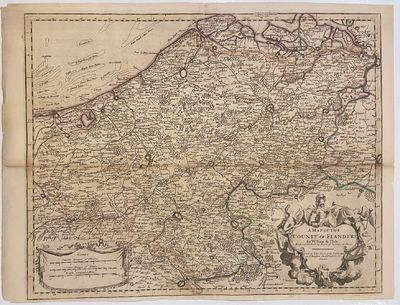 London: John Senex. unbound. Map. Engraving with hand coloring. Image measures 24 1/2
