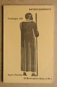 Ifan Kyrle Fletcher: Catalogue 220. Entertainments.