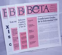 image of BETA: Boletín de Tratamientos Experimentales para el SIDA; Marzo 1995- Noviembre de 1996 [broken run of 4 issues in Spanish]