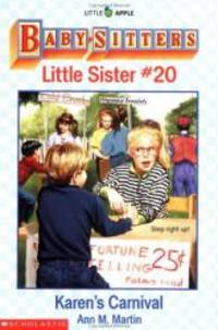Karen's Carnival (Baby-Sitters Little Sister, 20) by Ann M. Martin - Paperback - 1995-07-08 - from Books Express and Biblio.com