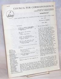 Newsletter. May 1962