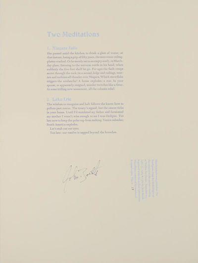 Minneapolis, MN: Bookslinger Editions - Toothpaste Press - Walker Art Center, 1980. First edition. B...