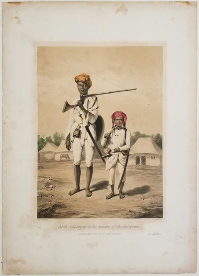 Arab and negro in the service of the...