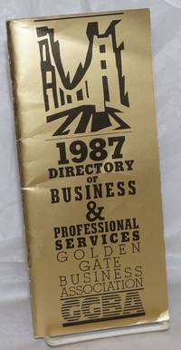 image of GGBA Directory ofBusiness_Professional Services; 1987