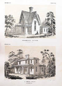 Price Guides & Publications 1817 Book Titled Cottages And Landscape Gardening Plans By William Ranlett