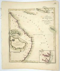 image of A New and Accurate Map of New South Wales with Norfolk and Lord Howes Islands Port Jackson &c from Actual Surveys.  Engraved by T. Foot