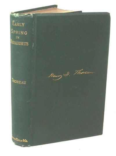 Boston: Houghton, Mifflin and Company, c1881. Early Reprint. Very good in its original green cloth c...