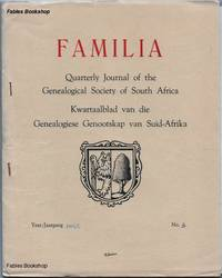 FAMILIA. 1964/5 No.3 by  C. (Ed) Pama - Paperback - from Fables Bookshop and Biblio.com
