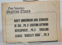 image of San Francisco Express Times, vol. 2, #4, January 28, 1969: Dirty Underwear: Girl Strikers in Jail
