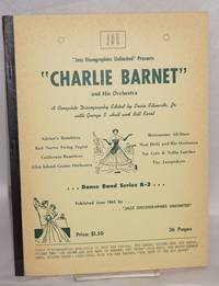 image of Jazz Discographies Unlimited presents Charlie Barnet and his Orchestra; a complete discography