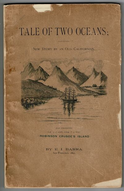 San Francisco: E.I. Barra , 1893. First edition, 8vo, pp. 198; wood-engraved vignette title page, 6 ...