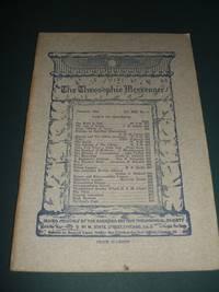 The Theosophic Messenger for February 1912