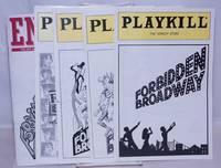 image of Forbidden Broadway programs [5 playbills]