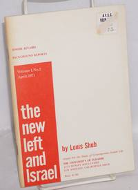 image of The new left and Israel