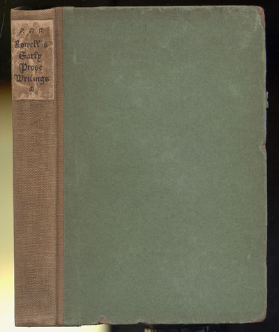 London & New York: John Lane at the Bodley Head, 1902. Hardcover. Very Good. First edition. Very goo...