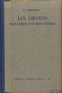 Jan Lievens sein Leben und seine Werke