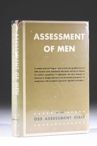Assessment of Men: Selection of Personnel for the Office of Strategic Services