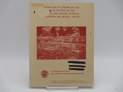 Denver.: U.S. Geological Survey., 1984. Tan printed wraps. . Good plus, ex-library with usual markin...
