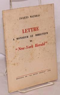 image of Lettre a Monsieur le Directeur du