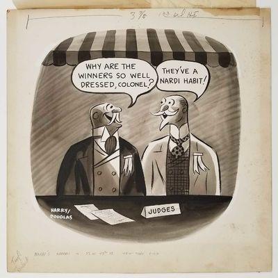 ORIGINAL untitled advertising cartoon...