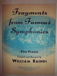Fragments from Famous Symphonies for Piano
