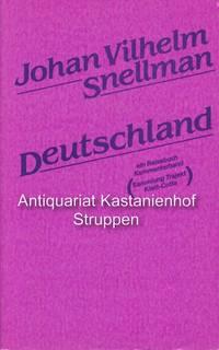 Deutschland. Eine Reise durch die deutschsprachigen Länder, 1840 - 1841.,Ein Reisebuch...