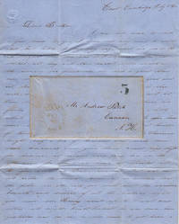 A detailed letter from a guard at East Cambridge Jail (which was made infamous by Dorthea Dix nine years before) describing the inmates' Independence Day celebration and the imminent hangings of two of the most notorious 19th-century Massachusetts murderers