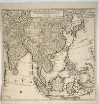 image of Carte des Indes et de la Chine / Dressée sur plusieurs Relations particulieres Rectifiées par quelques Observations par Guillaume de l'Isle de l'Academie Royale des Sciences. Map
