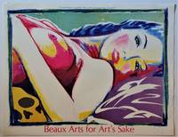 Beaux Arts for Art's Sake  (SIGNED Exhibition Poster)