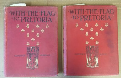 London: Harmsworth Brothers, Limited, 1900-01. Two folios in good- condition;clothbound hardcovers; ...