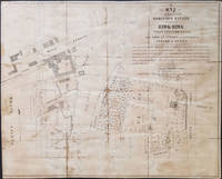 Map of a part of the Robinson Estate situated at Sing-Sing, Westchester Co., N.Y.  To be Sold at Auction on the Premises by Gerard & Betts. on Wednesday 5th May 1852..
