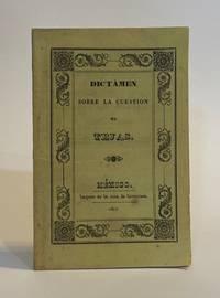 Dictámen leido el 3 de junio de 1840 en el Consejo de Gobierno, sobrela cuestion de Tejas