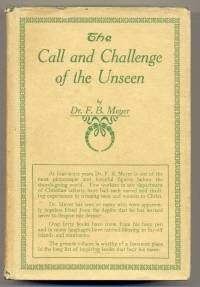 The Call and Challenge of the Unseen