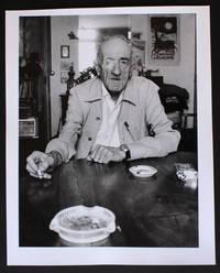 Portrait photographique de André Dhôtel par Bruno de Monès (tirage baryté numéroté et signé)