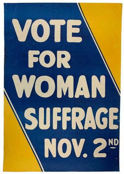 1915 Women�s Suffrage Poster