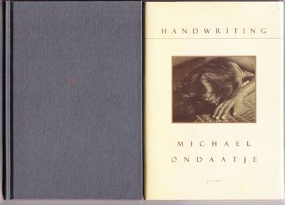 Toronto: McClelland & Stewart, 1998. First edition, first prnt. Signed by Ondaatje on the title page...