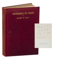 Witnesses in Court: With Some Criticisms of Court Procedure (Signed First Edition)