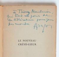 Le Nouveau Crève-coeur, poèmes [envoi autographe signé à Thierry Maulnier]