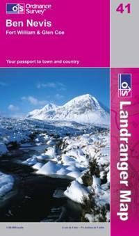 Ben Nevis, Fort William and Glen Coe (Landranger Maps)