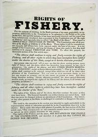 RIGHTS OF FISHERY