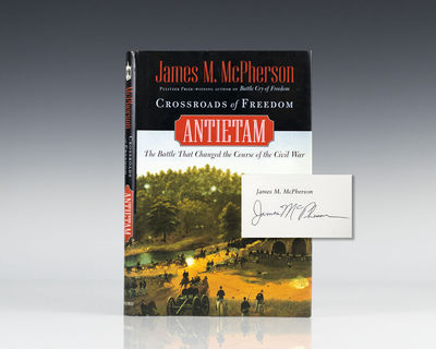 New York: Oxford, 2002. First edition. Octavo, original boards. Signed by James McPherson on the tit...