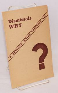 image of Dismissals why? A question which concerns all ... Mass meeting in Stuyvesant High School