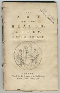 Art of preserving health. A poem.