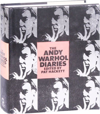 New York: Warner, 1989. First Edition. First Printing. Small quarto (24cm); black cloth-backed paper...