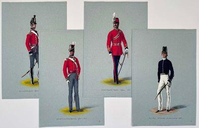Four original paintings: Royal Navy...