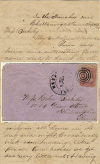 Detailed letter providing a first-hand description of the gallant performance of the 93rd Ohio Volunteer Infantry Regiment at the Battle of Chickamauga