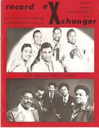 RECORD EXCHANGER,  Volume 4, No. 6,  Consecutive Issue 22,  1976:; The First and Foremost Publication Covering the History of Rock and Roll