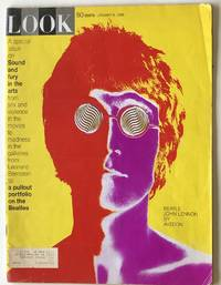 Look Magazine.  January 9, 1968.  Beatle John Lennon by Avedon.  A special issue on Sound and fury in the arts...
